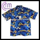 cotton island short sleeve men's shirt