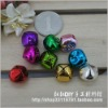 metal decoration bell,Christmas Day bell,craft cross bells