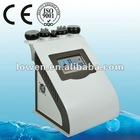 New 5 in 1 Liposuction ultrasonic Vacuum Bipolar Cavitation RF Laser Slimming Machine