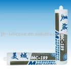 Neutral transparent silicone adhesive MC-189