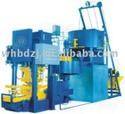 Multi-functional color tile machinery production line