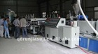 New WPC plastic building template machine