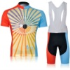 2012 MONTON Vision Of Cycling Jersey + Red And Blue + Bib Short Suit