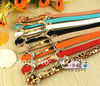 Free Shipping,12 pcs/lot,8 colors for choice Candy color fashion gril belt New style belt wholesale and retail