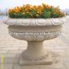 Nature granite flowerpot/ garden planter