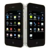 Cheapest MTK6575 Cell Phone W007 with Android 4.0 GSM+WCDMA dual Sim 3.5 inch Capacitive Screen GPS WiFi