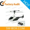 Micro Indoor RC Helicopter - iPhone iPad iPod Touch Remote Controlled Helicopter (Black/White)