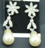 2012 new style pearl earring