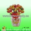 21g Bubble Gum Filled Lollipop