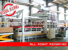 melamine lamination press machine
