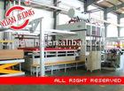 melamine lamination press machine