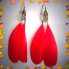 2012 cheap feather earrings