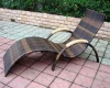 2012 Top supplier rattan outdoor chaise lounge
