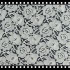 9331 cotton nylon lace fabric