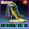 outdoor playground slide with CE certification