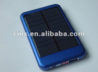 P-6000T portable and mimi solar charger with photoelectric conversion device