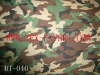 Military Camouflage Waterproof Fabric