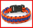 2012 latest 2 color wholesale paracord bracelet supplies wpb-0032