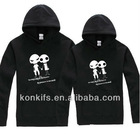 2013 spring fashional couple sweater /hooded sweater/fleece sweater