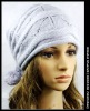 WOOL-ACRYLIC KNITTED HAT
