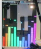 P10 led full color flexible curtain display