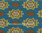 Imitation wax printed fabric 100%cotton imitation african wax printing material manufacture