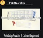Ruler plastic credit card magnifier