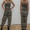 Women Jumpsuit Rompers With Digital Printed