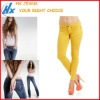 Sexy Fashionable Korea Style Colored Ladies Jeans