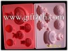silicone ice tray molds