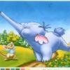 Lovely animal cartoon printing