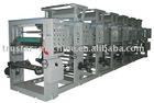 Shaftless gravure printing machine