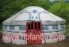 white color mongolian yurt