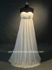 designer pregnant women wedding dress M85