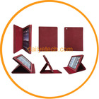 For iPad 3 case Flip Leather Case Cover w/stand Wine red from dailyetech