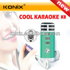 i9 Professional Pocket Singing Microphone Mini Karaoke Player Home KTV for iPhone 5, Laptop, Mobile Phone, MP3, MP4