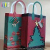 Promotional holiday gift packing handmade paper bag