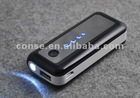 Hot selling With flashlight 4400mah external mobile power bank