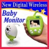 Portable wireless video and audio baby monitor