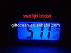 luminescent digital calendar smart light LCD clock
