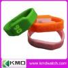 Silicon wristband USB watch, LED usb stick watch