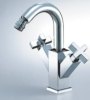 two handle bidet mixer (two handle bidet faucet, two handle bidet tap)