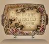 Inspirational Serving Platter