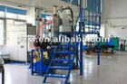 Laboratory induction vacuum furnace