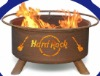 hand rock logo fire stoves
