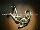 Forging safety chain hooks