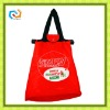 polyester foldable shopping tote bag
