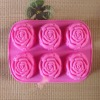 Rose silicone cake decoration tools
