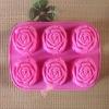 Rose silicone cake decoration tools