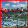 Electric train amusement park ride